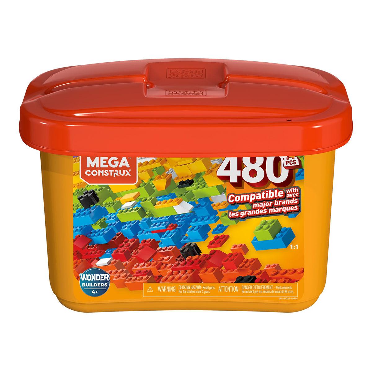 Mega Construx Bloques Mega Blocks Caja De 480 Piezas