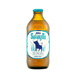 Jabalí Cerveza Salvajita Botella