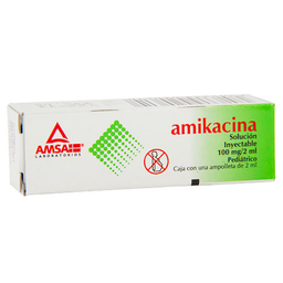 Amikacina Inyectable Suspension 1 (100 mg/2mL)