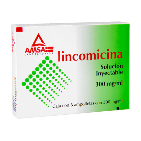 Comprar Lincomicina Inyectable 6 Suspension (300 Mg/Ml)