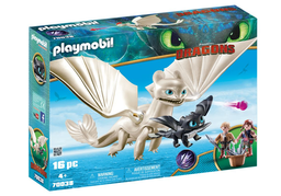 Set de Juego Playmobil Furia Luminosa 16 U