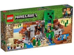 Set de Bloques Lego Minecraft The Creeper Mine 834 U