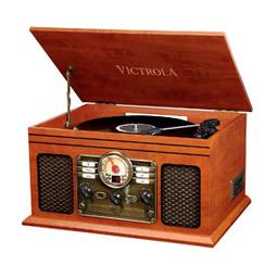 Tornamesa Nostalgic Classic Wood Brown 1 U
