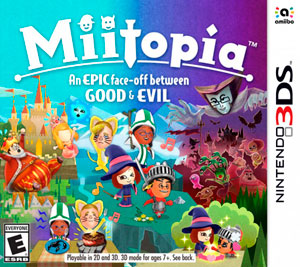 Juego Nintendo 3DS Miitopia Nintendo
