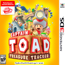 Videojuego Captain Toad Treasure Tracker 3Ds
