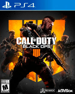 Videojuego Call Of Duty Black Ops 4 Ps4