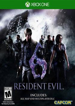 Videojuego Resident Evil 6 HD Xbox One 1 U