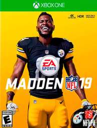 Videojuego Xbox One Madden NFL 19