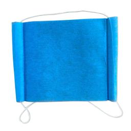 Cubrebocas Desechable Azul Dos Capa 1 U