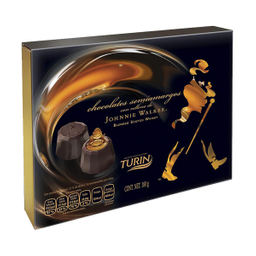 Chocolates Semiamargos con relleno Johnnie Walker 180 g
