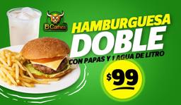 Combo Hamburguesa Doble