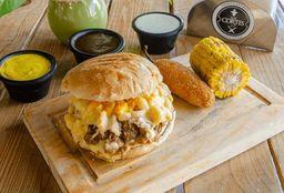 Mac y Chesse Burger