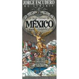 Mapa Artistico de La Ciudad De Mexico 1 U