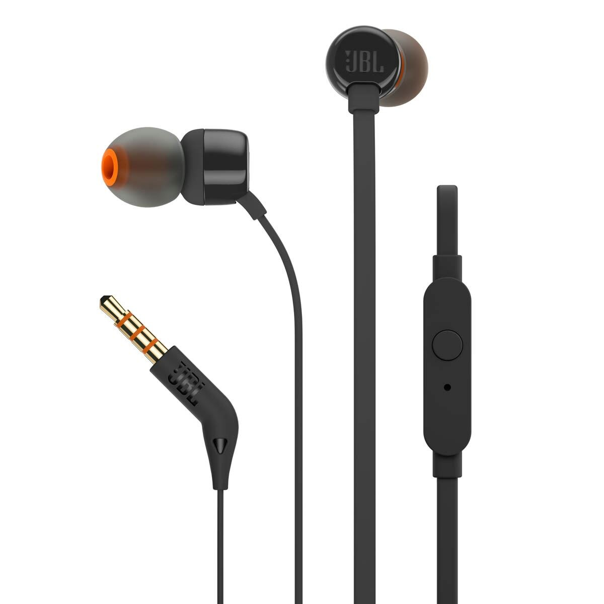 Audifonos JBL T110 In Ear Negro 1 U