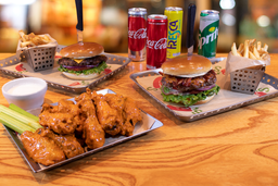 Paquete Burger & Wings
