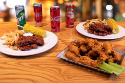 Crispers & Wings Platter