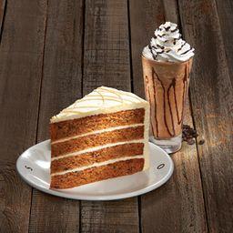 Frappuchino  473 ml + Rebanada de Cheesecake