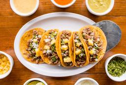 Orden Tacos carne Arabe