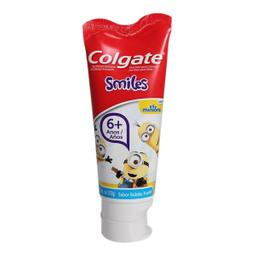 Pasta Dental Colgate Smiles Minions Bubble Fruit Infantil