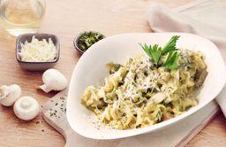 Pasta Filetto e Funghi