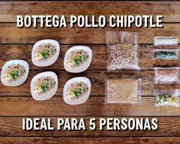 Bottega  Pollo Chipotle 5 Personas