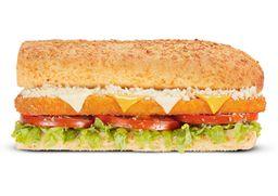 Sándwich de Milanesa de Pollo 3 Quesos 15 cm