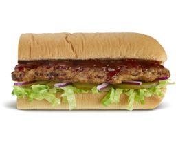Sándwich de Costillas BBQ 30 cm