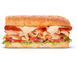 Sándwich de Pollo Rotisserie Toscano 30 cm
