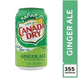 Canada Dry  Ginger Ale 355 ml