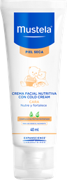 Mustela -Crema Facial Nutritiva Cold Cream para piel Seca