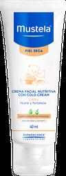 Mustela Crema Facial Nutritiva Cold Cream para piel Seca
