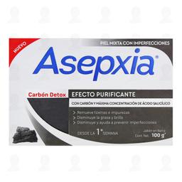 Asepxia Jabón  Carbón Detox