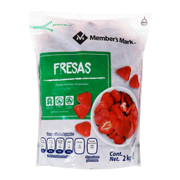 Fresas Congeladas Member´s Mark Entera 2 Kg