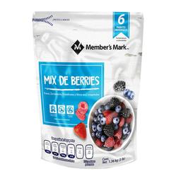 Mix de Berries Member's Mark Congeladas 1.36 Kg