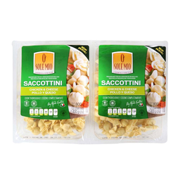 Saccottini O Sole Mio Pollo y Queso 800 g