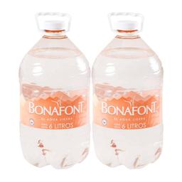 Agua Bonafont 6 L x 2