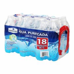 Agua Purificada Member's Mark 1 L x 18