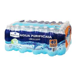 Agua Purificada Member's Mark 500 mL x 40