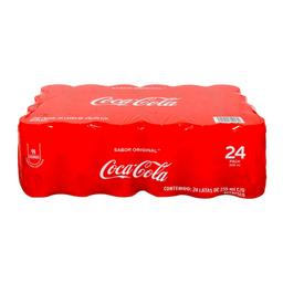 Refresco Coca Cola Mini 235 mL x 24