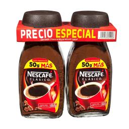 Café Soluble Nescafé 350 g x 2