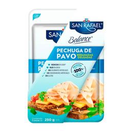 Pechuga de Pavo San Rafael Balance 250 g x 3