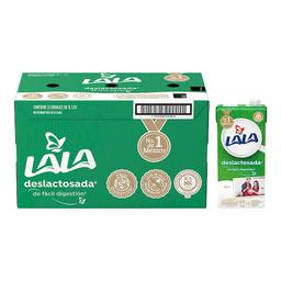 Leche Lala Deslactosada 1 L x 12