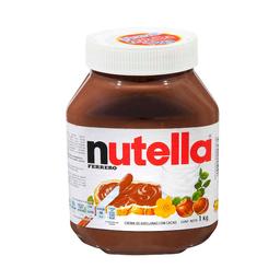 Crema de Avellanas Nutella Con Cacao 1 Kg
