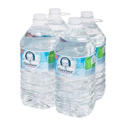 Agua Nestlé Gerber Embotellada 4 L x 4