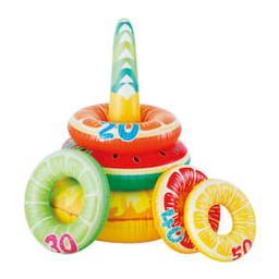 Juego Inflable Summer Waves + 5 Donas Inflables 6 U