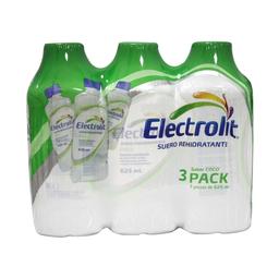 Bebida Hidratante Electrolit Coco 625 mL x 3