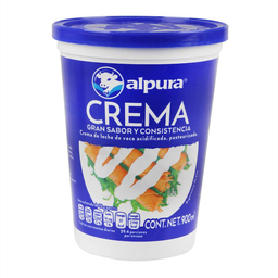 Crema Alpura Premium Acidificada 900 mL
