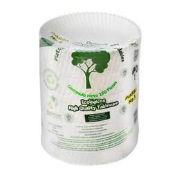 Platos de Cartón Marba Biodegradables 250 U
