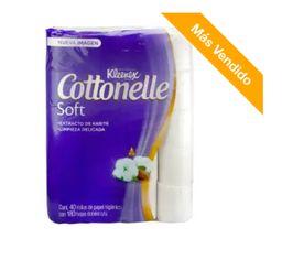 Papel Higiénico Kleenex Cottonelle Soft Care 40 U