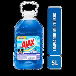 Limpiador Ajax Pets Líquido Multiusos 5 L